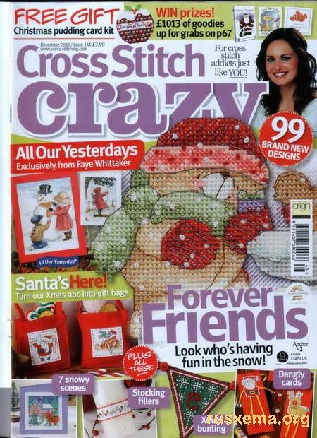 Cross Stitch Crazy 145 декабрь