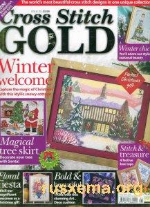 Журнал по вышивке крестом c цветными схемами. turbobit.net. sibit.net.  Скачать бесплатно Cross Stitch Gold Issue 25...